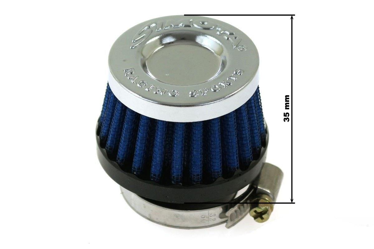 Moto Filtr stożkowy SIMOTA 50mm JAU-ME32238-21 - GRUBYGARAGE - Sklep Tuningowy